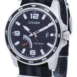 시민 PRT 에코-드라이브 전원 예비 AW7030-06E 남자 시계