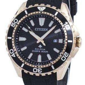 시민 Promaster 해양 에코 드라이브 아날로그 BN0193-17E 남자의 시계