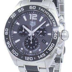 태그 Heuer 카레 라 포뮬러 1 크로 노 그래프 쿼 츠 CAZ1011 BA0843 남자의 시계