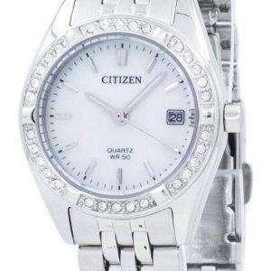 시민 석 영 다이아몬드 악센트 EU6060-55 D 여자의 시계