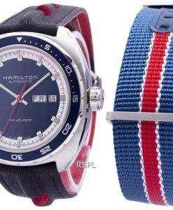 해밀턴 미국 클래식 팬 Europ 자동 H35405741 남자의 시계