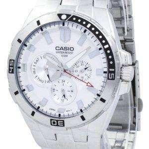 카시오 해양 스포츠 잠수 부 아날로그 석 영 MTD-1060 D-7AV MTD1060D-7AV 남자의 시계