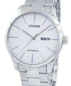 시민 아날로그 자동 NH8350 83A 남자의 시계