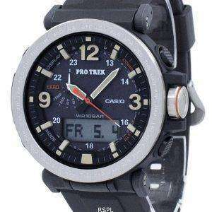 건반 ProTrek 트리플 센서 힘든 태양 PRG-600-1 PRG600-1 남자의 시계
