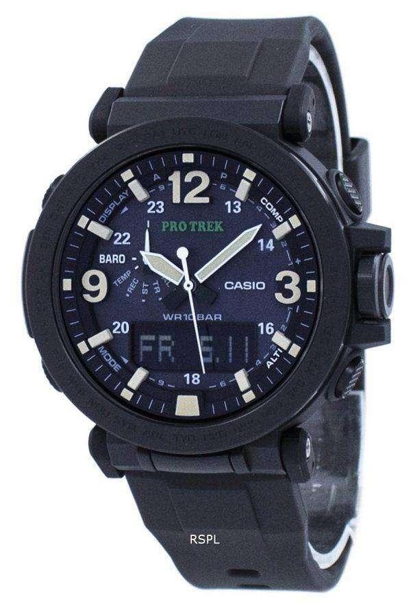 건반 ProTrek 트리플 센서 힘든 태양 PRG-600Y-1 PRG600Y-1 남자의 시계