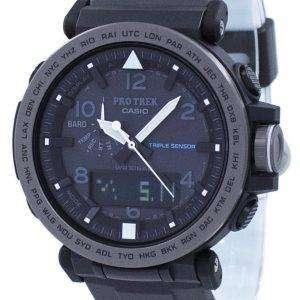 건반 ProTrek 트리플 센서 힘든 태양 PRG-650Y-1 PRG650Y-1 남자의 시계