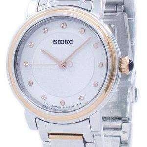 세이 코 발견 더 많은 석 영 다이아몬드 악센트 SRZ480 SRZ480P1 SRZ480P 여자의 시계