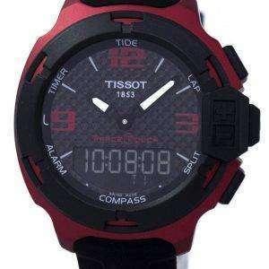 Tissot T-경주 터치 알루미늄 달력 T081.420.97.207.00 T0814209720700 남자의 시계