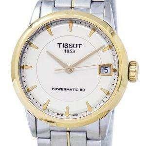 Tissot T-클래식 럭셔리 Powermatic 80 T086.207.22.261.00 T0862072226100 여자 시계