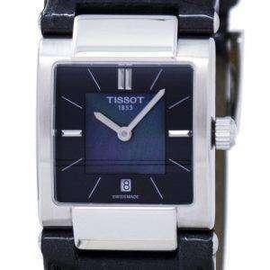 Tissot T-레이디 T02 석 영 T090.310.16.121.00 T0903101612100 여자 시계
