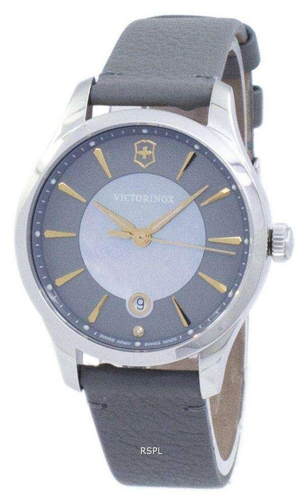 Victorinox 얼라이언스 작은 스위스 군용 석 영 241756 여자의 시계