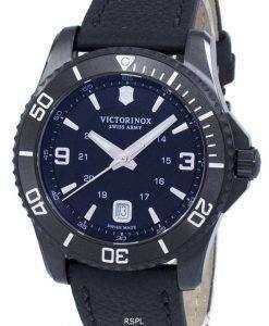 Victorinox 코디 큰 블랙 에디션 스위스 육군 석 241787 남자의 시계