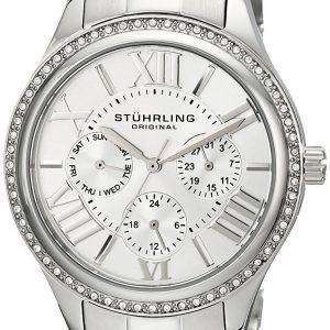 Stuhrling 원래 장엄한 SE 석 영 다이아몬드 악센트 391LS.01 여자 시계