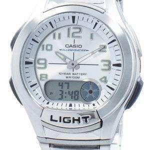 카시오 청소년 조명 아날로그 디지털 AQ-180WD-7BV AQ180WD-7BV 남자의 시계