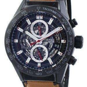 태그 Heuer 카레 라 크로 노 그래프 자동 CAR2090입니다. FT6124 남자의 시계