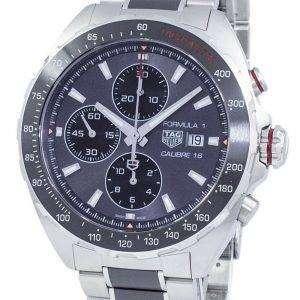 태그 호이어 포뮬러 1 크로 노 그래프 자동 200 M CAZ2012 BA0970 남자의 시계