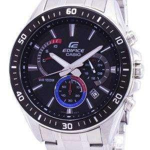 건반 건물 크로 노 그래프 쿼 츠 EFR 552D 1A3 EFR552D1A3 남자의 시계