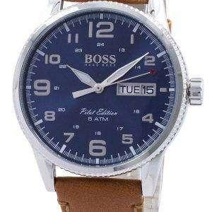 휴고 보스 파일럿 빈티지 에디션 석 1513331 남자의 시계