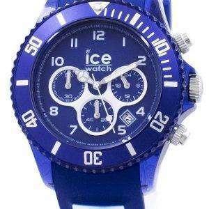얼음 아쿠아 해양 대형 크로 노 그래프 석 영 012734 남자의 시계