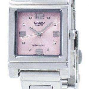 카시오 패션 아날로그 석 영 LTP-1237 D-4A LTP1237D-4A 여자의 시계