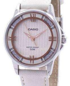 카시오 Enticer 아날로그 석 영 LTP-1391 L-7A2V LTP1391L-7A2V 여자의 시계