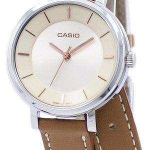 카시오 아날로그 석 영 더블 루프 LTP-E143DBL-5A LTPE143DBL-5A 여자 시계