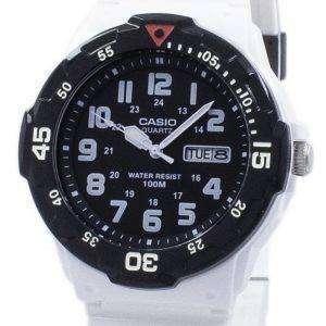 카시오 청소년 다이 버 아날로그 석 영 MRW-200HC-7BV MRW200HC-7BV 남자의 시계