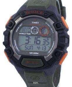 타이 멕 스 원정대 충격 세계 시간 Indiglo 디지털 T49972 남자의 시계