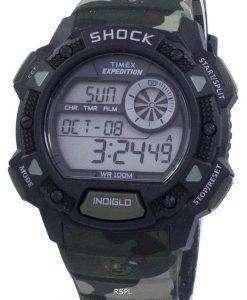 타이 멕 스 원정대 기본 충격 알람 Indiglo 디지털 T49976 남자의 시계
