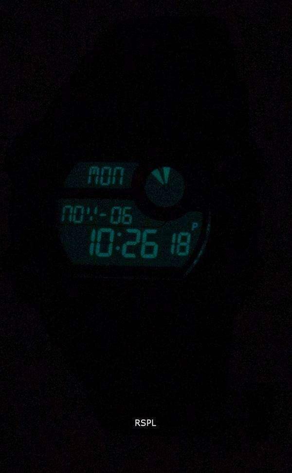 타이 멕 스 원정대 Antichoc 드 베이스 충격 Indiglo 디지털 T49977 남자의 시계