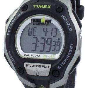 타이 멕 스 Ironman 트라이 애슬론 30 랩 Indiglo 디지털 T5K412 남자 시계
