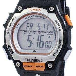 타이 멕 스 Ironman 충격 30 랩 알람 Indiglo 디지털 T5K582 남자의 시계