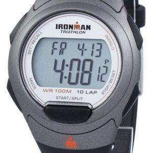 타이 멕 스 Ironman 트라이 애슬론 10 무릎 Indiglo 디지털 T5K607 남자 시계 스포츠