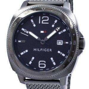 토미 Hilfiger 아날로그 석 영 타키 1791427 남자의 시계