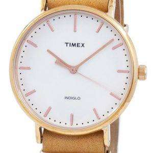 Timex Weekender 페어필드 Indiglo 석 영 TW2P91200 남 여 시계