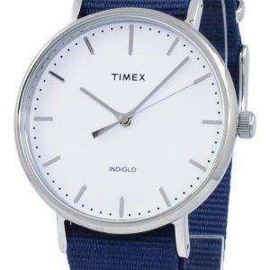 Timex Weekender 페어필드 Indiglo 석 영 TW2P97700 남 여 시계