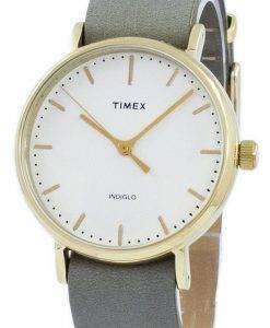 Timex Weekender 페어필드 Indiglo 석 영 TW2P98500 남 여 시계