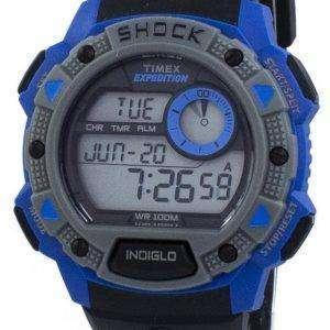 타이 멕 스 원정대 기본 충격 Indiglo 디지털 TW4B00700 남자 시계