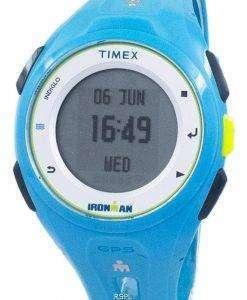 타이 멕 스 Ironman 실행 X20 GPS Indiglo 디지털 TW5K87600 Unisex 시계