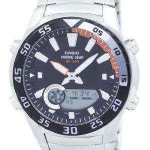 카시오 아날로그 디지털 해양 기어 AMW-710 D-1AVDF AMW-710 D-1AV 남자 시계