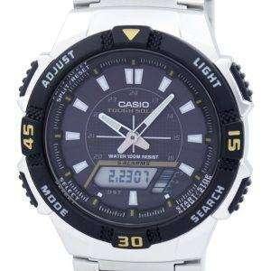 카시오 아날로그 디지털 힘든 태양 AQ-S800WD-1EVDF AQ-S800WD-1 EV 남자의 시계