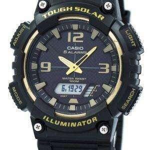 카시오의 터프 솔 라 5 경보 AQ-S810W-1A3V 남자의 시계