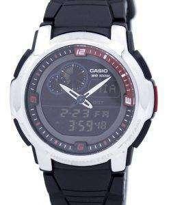 카시오 아날로그 디지털 온도계 AQF 102W 1BVDF AQF 102W 1BV 남자 시계