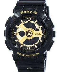 카시오 베이비 G 세계 시간 아날로그 디지털 BA-110-1A 여성 시계