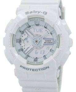 건반 베이비-G 아날로그 디지털 바-110-7A3 여자의 시계