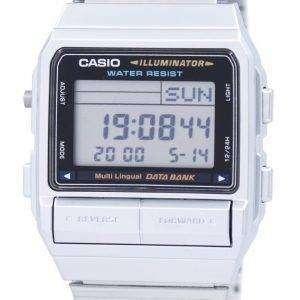 카시오 디지털 5 경보 다 언어 데이터 뱅크 DB-380-1DF DB-380-1 남자의 시계