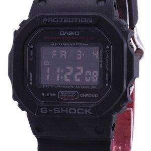 카시오 조명 기의 g 조-충격 크로 노 디지털 dw는-5600 시간-1 DW5600HR-1 남자의 시계