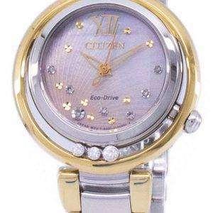 시민 L 일출 에코 드라이브 다이아몬드 악센트 EM0324-58 D 여자 시계