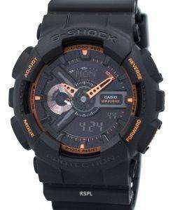 카시오 G 쇼크 아날로그 - 디지털 GA-110TS-1A4 시계 남성
