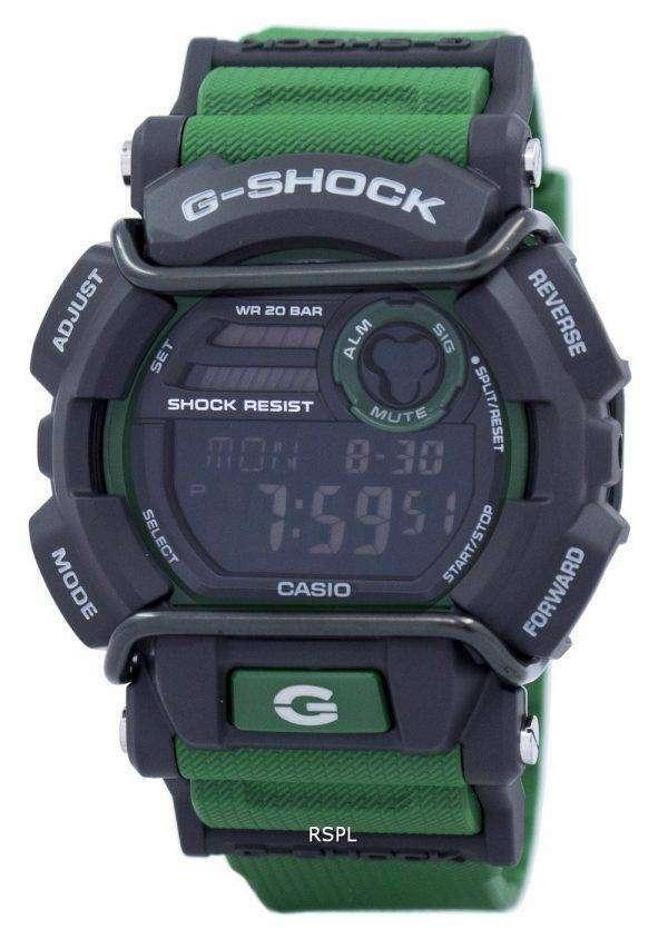 건반의 g 조-충격 플래시 경고 슈퍼 조명 기 GD-400-3 남자의 시계